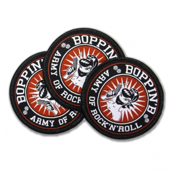 "Boppin' B Patch ""Army of Rock n Roll"""